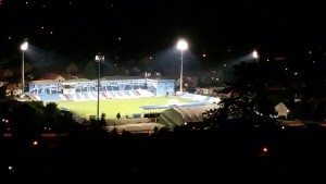 stadion, reflektori