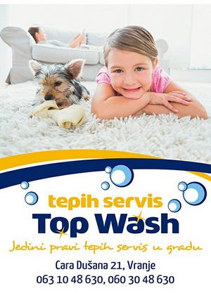 Tepih servis Top Wash